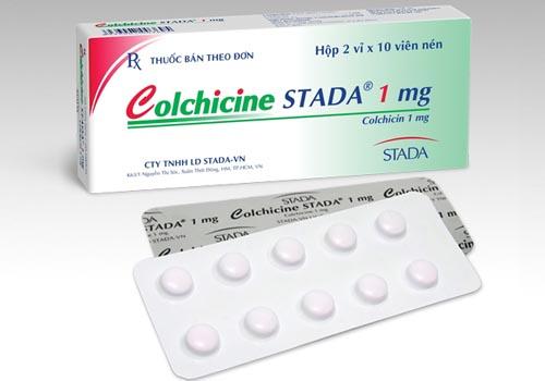 Bệnh gút khi nào cần dùng colchicine?