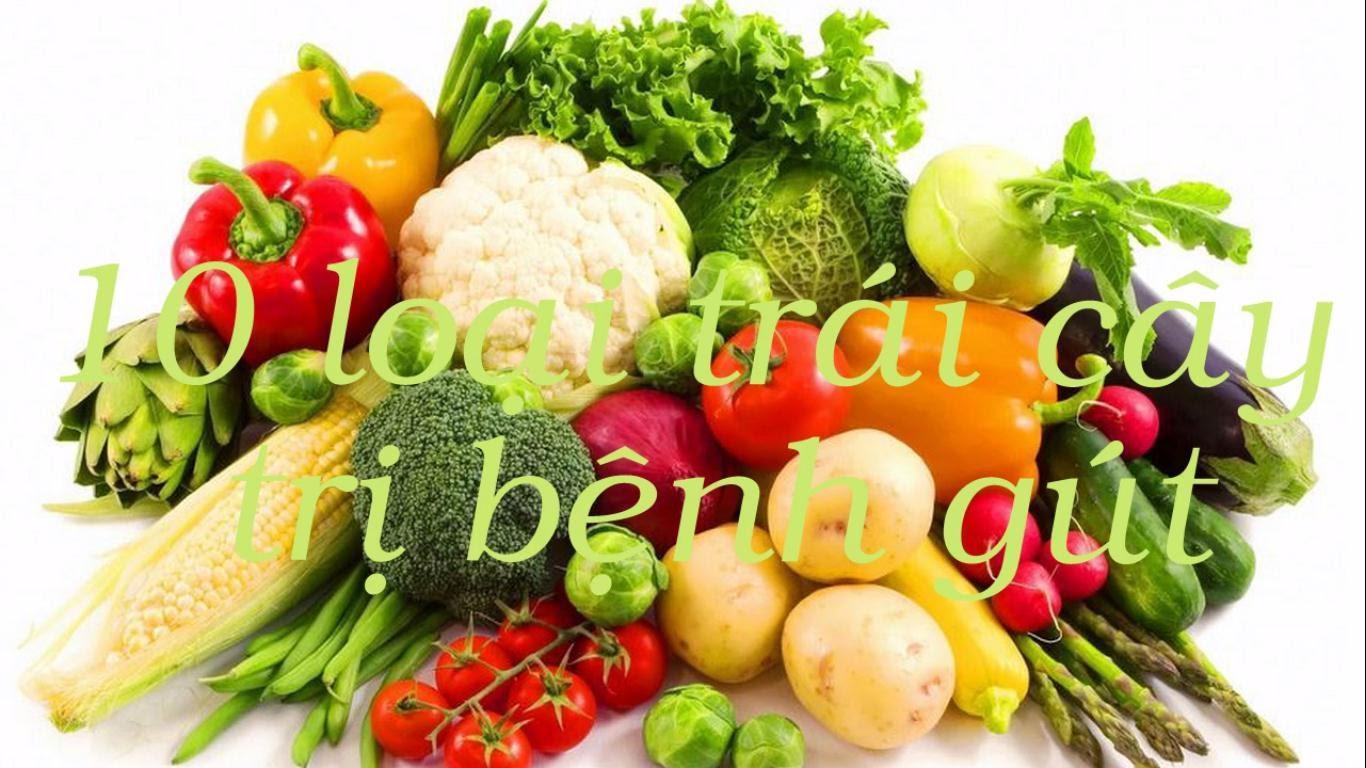 Các loại quả tốt cho bệnh nhân gout